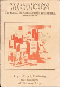 THE FIRST JOURNAL for veterinary technicians debuted almost 40 years ago.