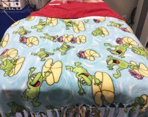 FIGURE 9. Flannel blanket. Image courtesy of Brenda Feller.