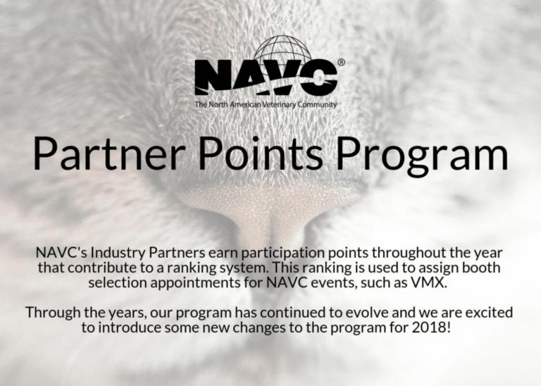 NAVC Partner Points System