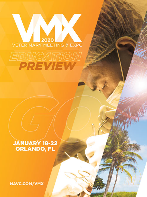 VMX Program - Veterinary Conference Offering Over 1,200